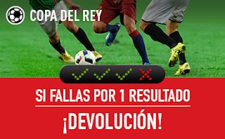sportium seguro combinada Copa del Rey 3-4 enero