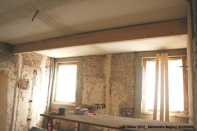 trave in legno wood beam