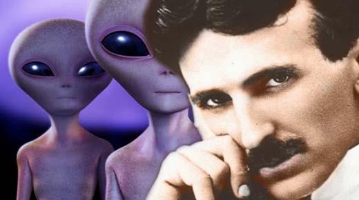 La posible conneción entre Nikola Tesla y los extraterrestres