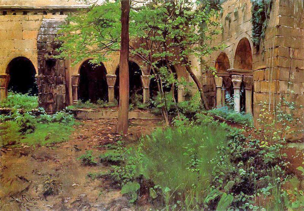 Santiago rusi ol el jard n abandonado for Arreglar jardin abandonado