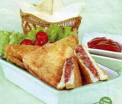 Resep Sandwich Bakar Telur Kornet Keju