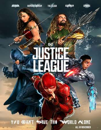 Justice League 2017 Hindi Dual Audio HDTS Full Movie Download