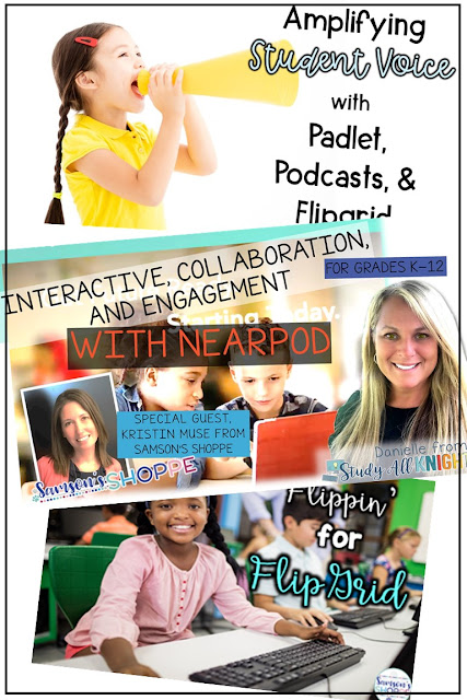 Vary your teaching style to avoid student slump with nearpod, flipgrid, padlet, and podcasts