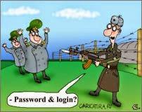 Иллюстрация, логин и пароль (источник - Caricatura.ru)