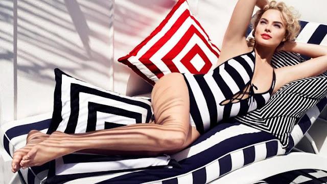 Ahora aparecen fotos filtradas de la sensual Margot Robbie