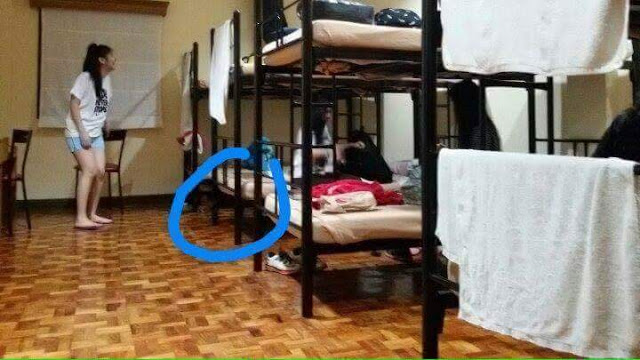 This Girl Had The Scare of Her Life in A Retreat House in Pansol