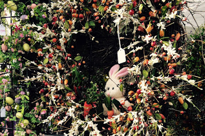 Summerville Flowertown Festival 2015 - Easter Bunny Wreath by Unique Wreaths | The Lowcountry Lady