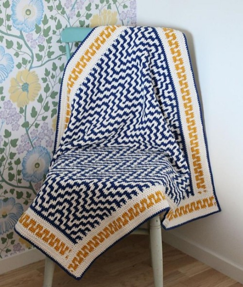 One Step Beyond Blanket - Free Pattern