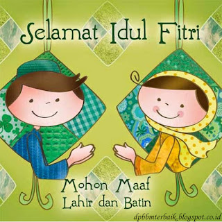 DP BBM Selamat Hari Raya Idul Fitri 1437 H  Terbaru dan Terbaik