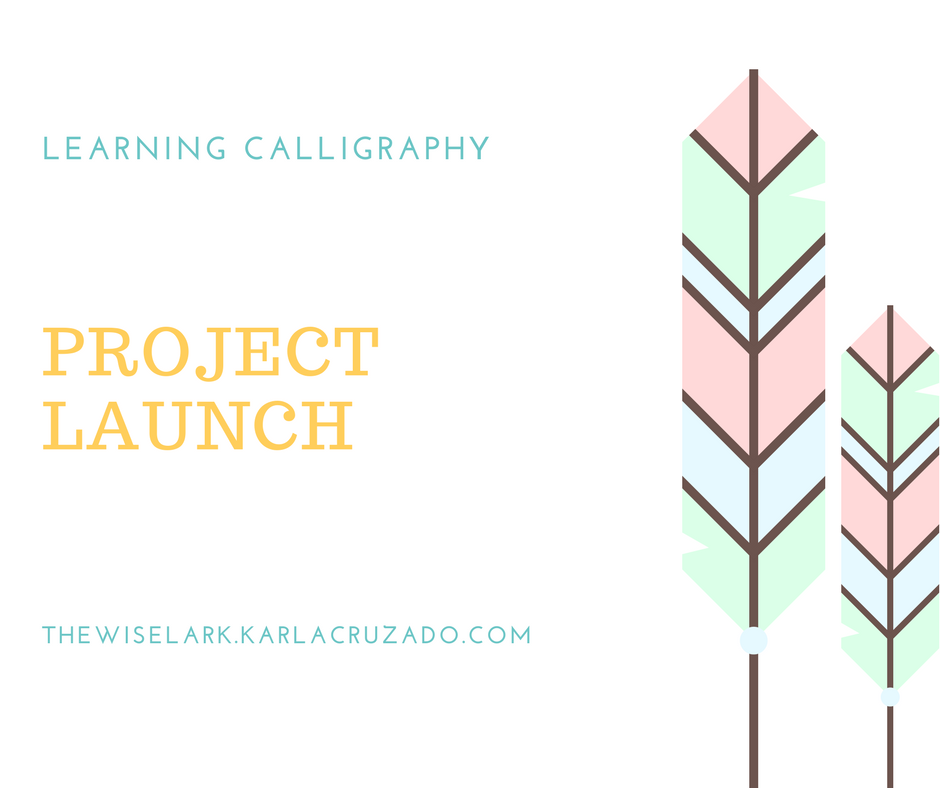 Learning calligraphy project launch