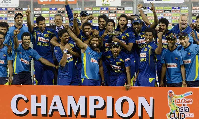Sri Lanka beat Pakistan by 5 wickets to win the Asia Cup 2014
