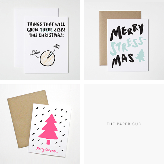 Christmas Cards from The Paper Club