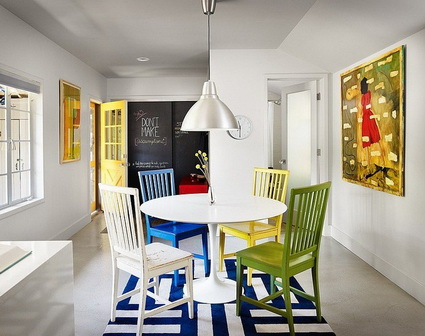 10 dining rooms paints with lots of color 8