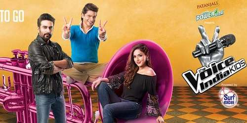 Poster Of The Voice India Kids 15th October 2016 200MB HDTV 576p Free Download Watch Online Worldfree4u