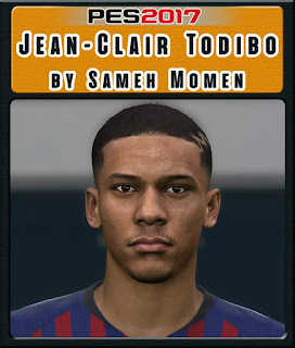 PES 2017 Faces Jean-Clair Todibo by Sameh Momen