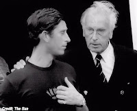 Lord Mountbatten & Prince Charles