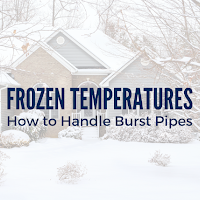 Don't Let Frozen Temperatures Destroy Your Home: How to Handle Burst Pipes
