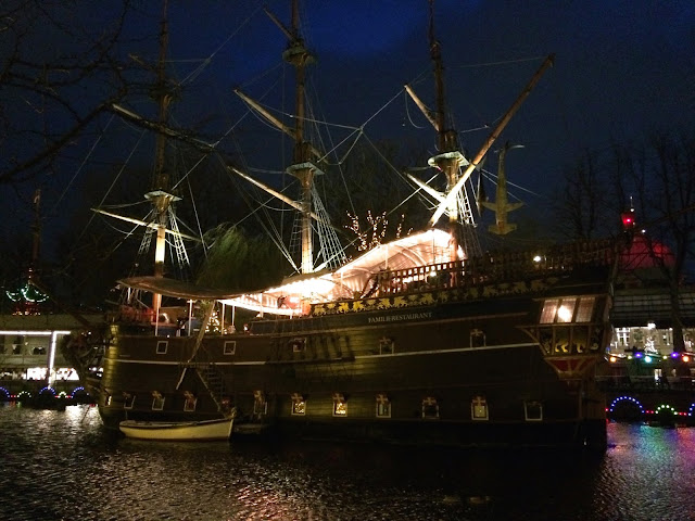 Pirate Ship Restaurant - Tivoli Gardens - The Dress Diaries