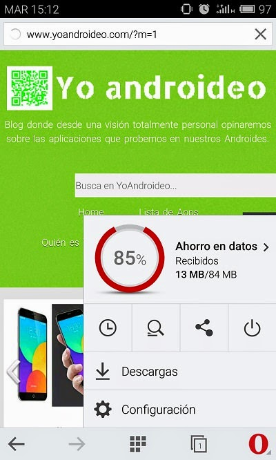 YoAndroideo.com: Opera Mini y CPU Spy, dos útiles utilidades