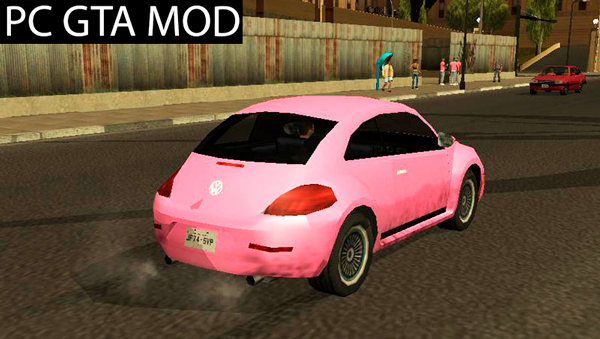 Free Download  VW - New Beetle 2012 (Sa-Style Fix)  Mod for GTA San Andreas.