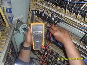 MT MTG 4 Aux Contactor Circulation Pump HTB Control Panel Check Aux Contact