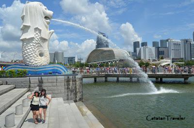 Merlion park, singapura, Traveling
