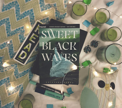A Different, Slow Paced Retelling // ARC Review: Sweet Black Waves by Kristina Perez