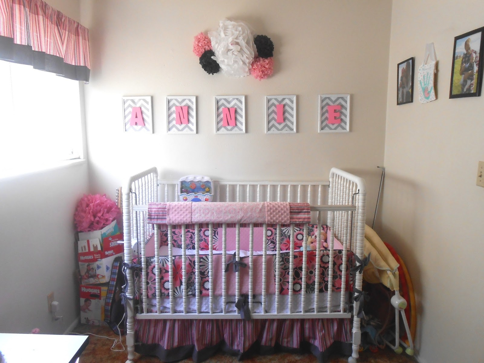 Baby Name Wall Art how to make your child's room pop,putting wooden letters in