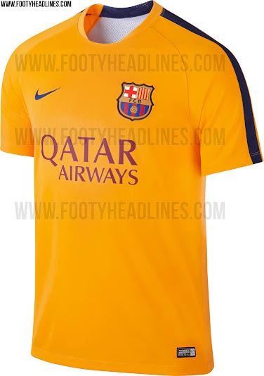 Desvelado el diseño de la camiseta de entrenamiento del FC Barcelona ... 527db18d04e