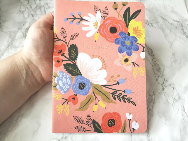 Rifle Paper Co Notebook Lively Floral