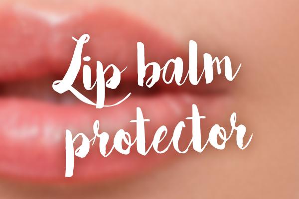 lip balm protector