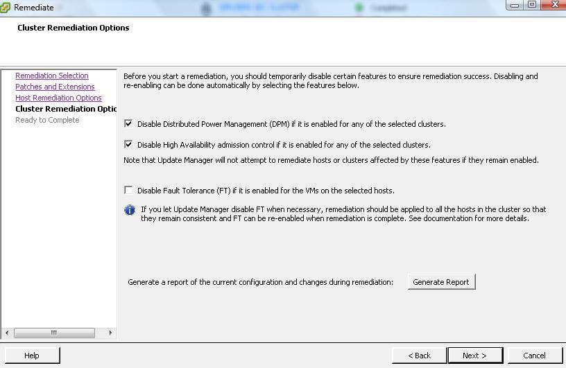 VMware vCenter Update Manager Error