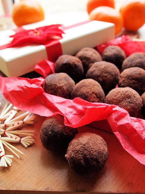 Chocolate Orange Cake Truffles