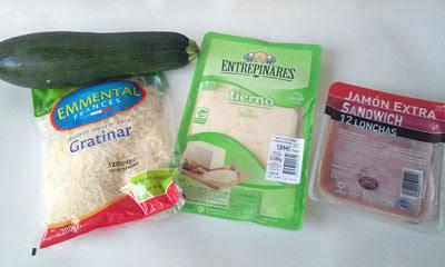 ingredientes graten de calabacin
