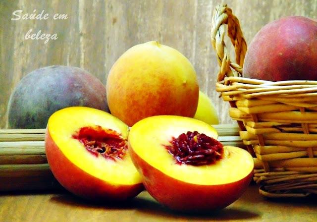 Benefícios do pêssego à saúde