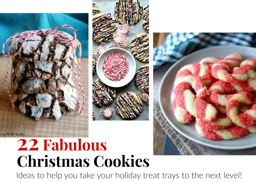 Christmas Cookie Trays.Cooking With Carlee 22 Of The Best Cookies For Your