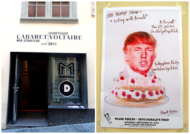 Voltaire Cabaret and Trump in Zurich