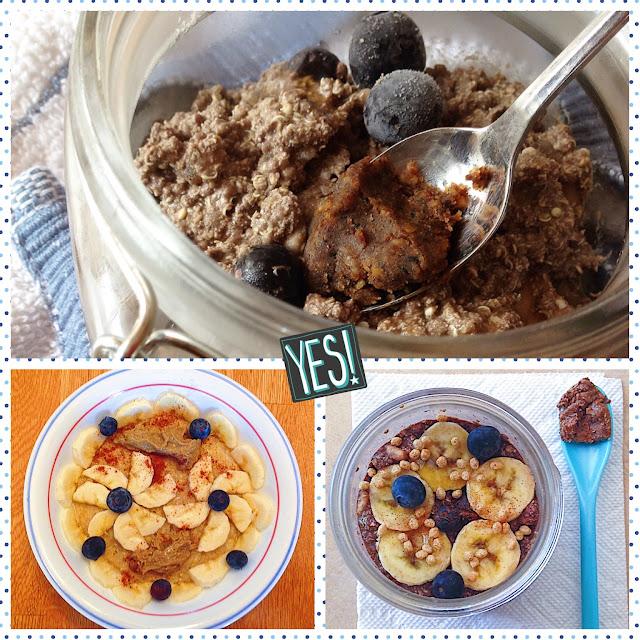 Creamy and Cozy Quinoa Flakes Porridge, Three Ways (Gluten Free, Vegan)