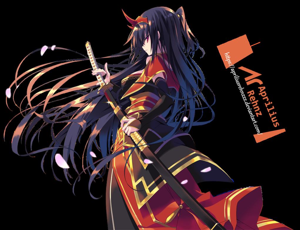 render Samurai Girl