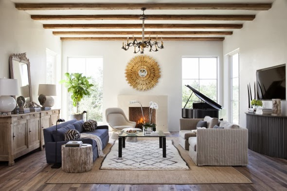 La Dolce Vita: Two Styles, One Room: Rustic and Refined