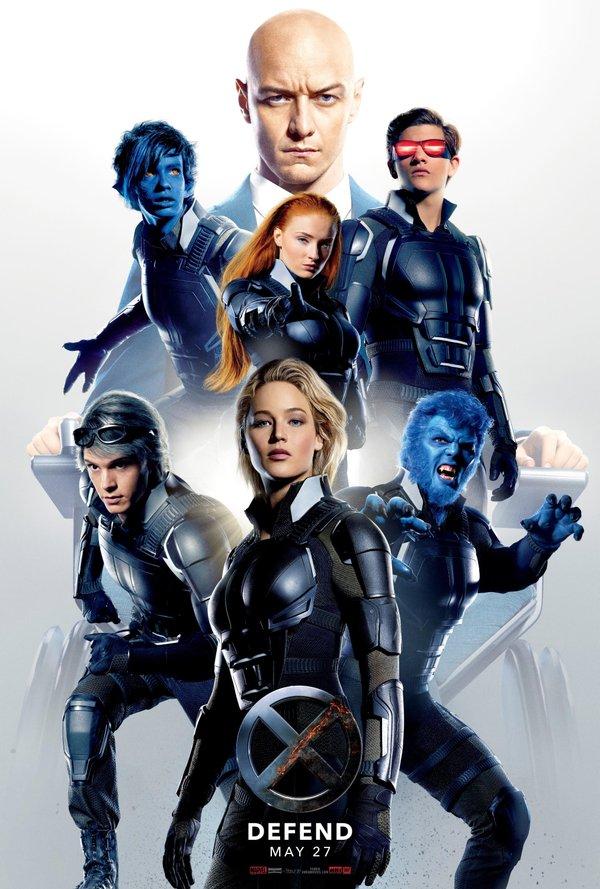 映画 X-MEN:アポカリプス ポスター