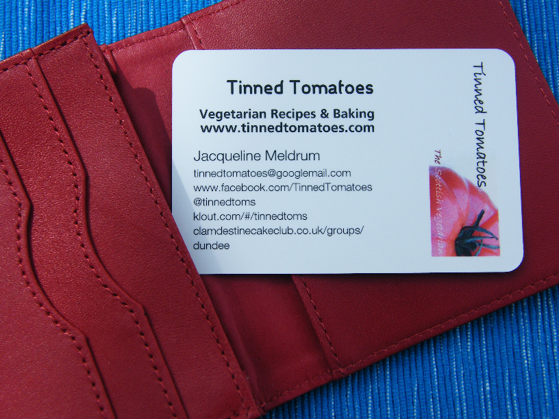 Blog Business Cards - Tinned Tomatoes