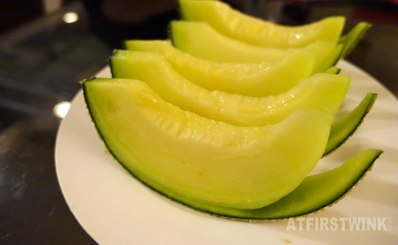 Korean musk melon sliced AEON MaxValu supermarket the ONE mall Hong Kong