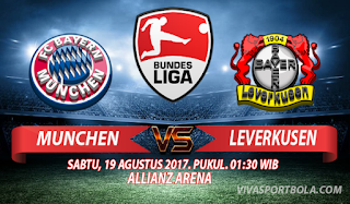 Prediksi Bayern Munchen vs Bayer Leverkusen 19 Agustus 2017
