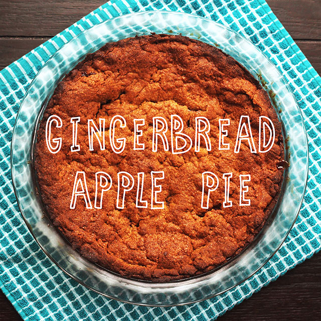 Gingerbread Apple Pie recipe