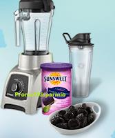 Logo Sunsweet: rispondi e vinci gratis un mixer Vitamix S30