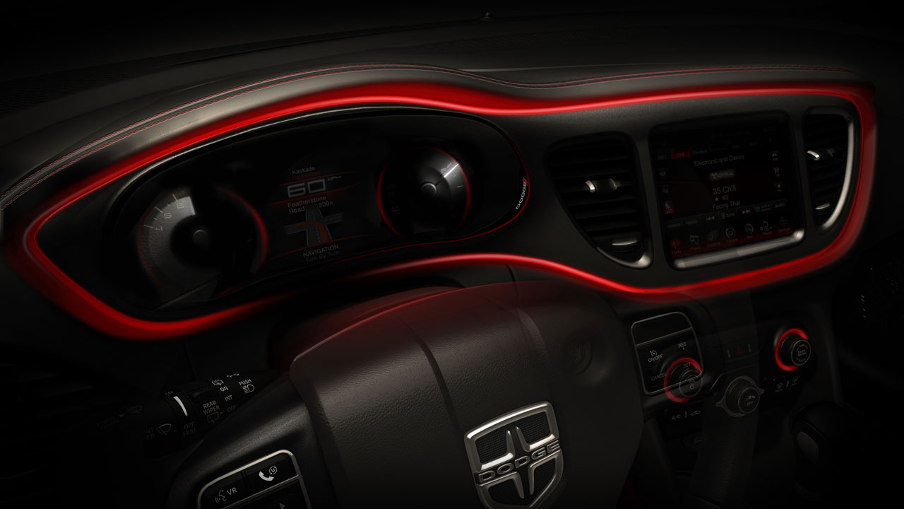Dodge Teases 2013 Dart Interior Philippine Car News Car