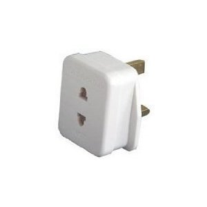 LOWEST World of Data® Shaving Adaptor/PLug UK Standard £1.60 + free shipping
