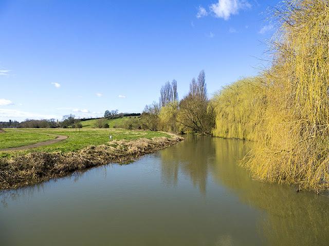 River Ouse in Milton Keynes