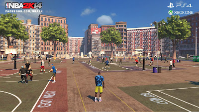 NBA 2K14 MyCareer Mode The Park